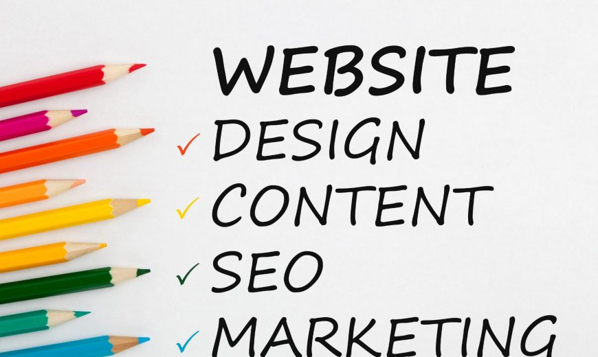 what is a website design